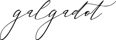 Preview image for galgadot Font