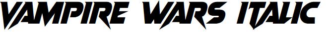 Vampire Wars Italic