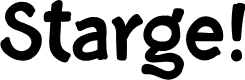 Preview image for Starge PERSONAL USE ONLY Font
