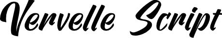 Preview image for Vervelle Script