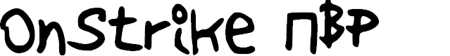 Preview image for OnStrike NBP Font