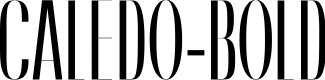 Preview image for Caledo-Bold Font