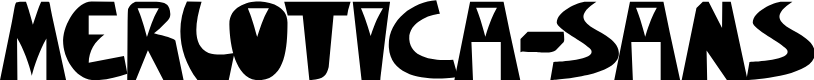 Preview image for Merlotica-Sans Font