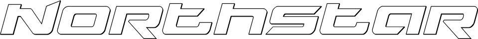 Preview image for Northstar Outline Italic