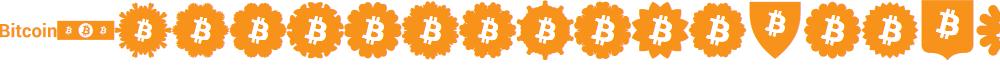 Font Bitcoin Color