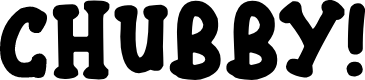 Preview image for Chubby Font