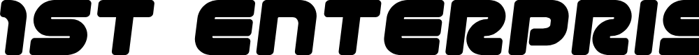 Preview image for 1st Enterprises Semi-Italic