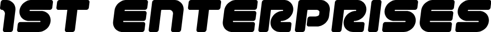 1st Enterprises Semi-Italic