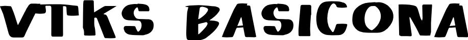 Preview image for Vtks Basicona Font