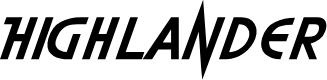 Preview image for Highlander Font