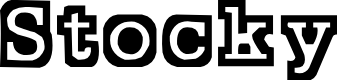 Preview image for Stocky Font