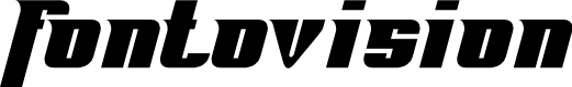 Preview image for Fontovision Font