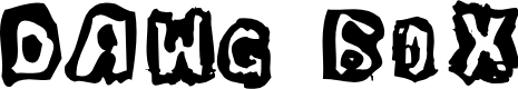 Preview image for Dawg Box Font