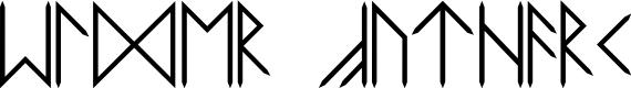 Preview image for Elder Futhark Font
