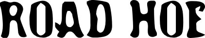 Preview image for Road Hoe Font