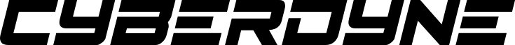 Cyberdyne Condensed Italic