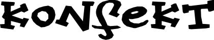 Preview image for Konfekt Font