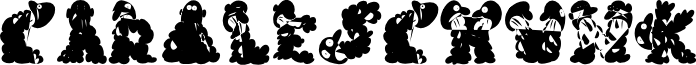 CarolesChunk font