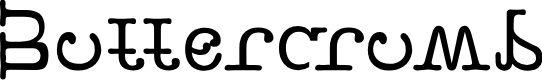 Preview image for Buttercrumb Font
