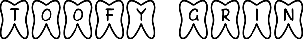 Preview image for JLR Toofy Grin Font