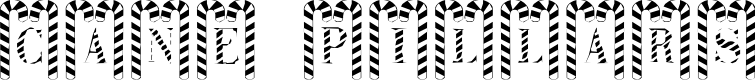 Preview image for Cane Pillars Font