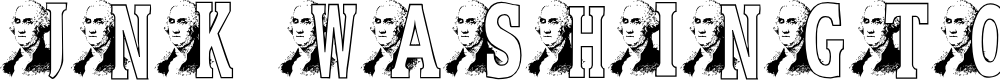 Preview image for JNK WASHINGTON Font