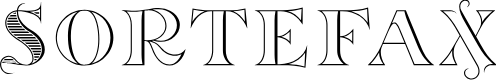 Preview image for Sortefax Font