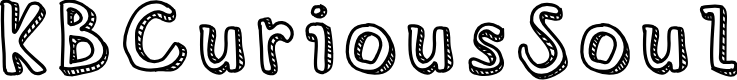 Preview image for KBCuriousSoul Font