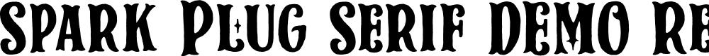 Preview image for Spark Plug Serif DEMO Regular