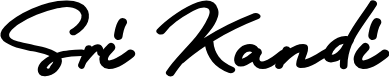 Preview image for Sri Kandi  Font