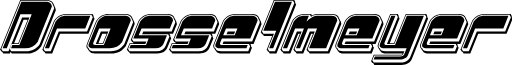 Drosselmeyer Punch Italic