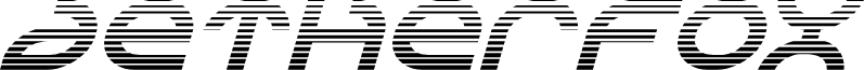 Aetherfox Gradient Italic