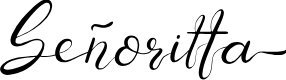 Preview image for Senoritta Font