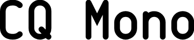 Preview image for CQ Mono