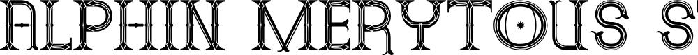 Preview image for Alphin Merytous St Font