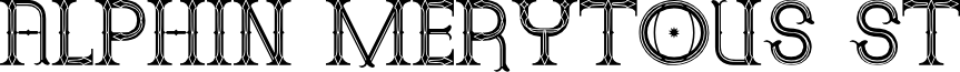 Alphin Merytous St font