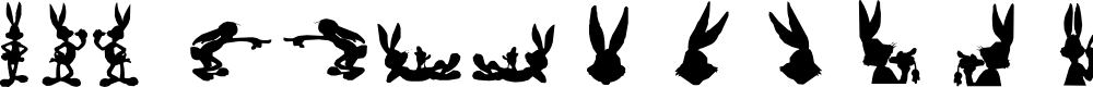 Preview image for lpbunnies1 Font