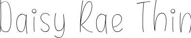Preview image for Daisy Rae Thin