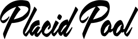Preview image for Placid Pool Personal Use Regular Font