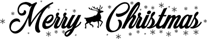 Preview image for Merry Christmas Flake Font