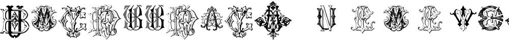 Preview image for Intellecta Monograms Random Samples Font