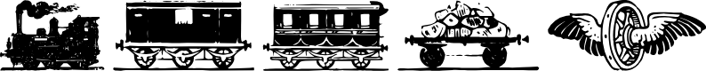 Preview image for Eisenbahn Font
