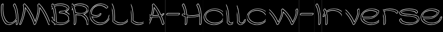 UMBRELLA-Hollow-Inverse