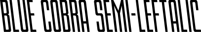 Blue Cobra Semi-Leftalic