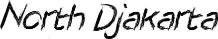 Preview image for North Djakarta Font
