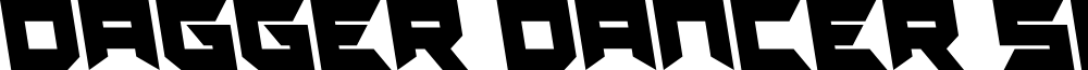 Dagger Dancer Semi-Leftalic