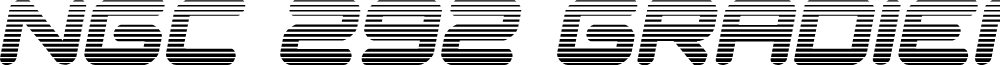 NGC 292 Gradient Semi-Italic
