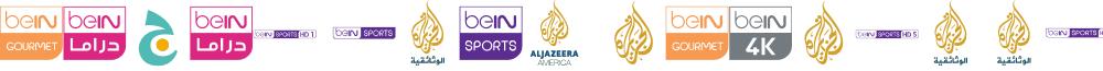 logos bein aljazeera