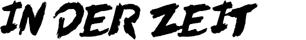 Preview image for In der Zeit Font