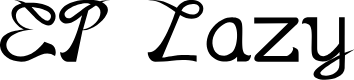 Preview image for EP Lazy Font